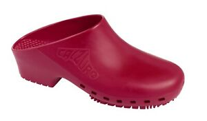 Calzuro classics with side holes size 34-35,  40-41, 46-47 sabot, clogs.