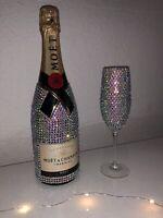 """""""Moet & Chandon Champagner Brut Imperial"""" Sektglas Geschenkset @luxbottles_"""