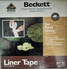 """Beckett Liner Tape For Pond Liners EPDM & PVC Brand New 25' 3"""""""