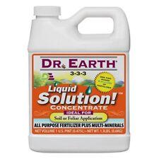 Dr. Earth 751 Liquid Solution Pro Biotic 3-3-3, 16-Ounce