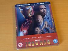 MARVEL - Iron Man - Zavvi Exclusive Limited Edition Steelbook [4K UHD + Blu-ray]
