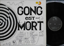 GONG GONG EST MORT LIVE 1977 2xLP French 1977 TAPIOCA NMint