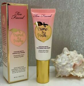 Too Faced *Primed & Peachy Primer* Cooling Matte - AUTHENTIC
