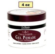 THE ROOTS NATURELLE VIRGIN LACQUER GEL POMADE EDGE CONTROL SLEEK FINISH 4oz
