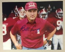 Coach Bill Curry signed ALABAMA CRIMSON TIDE 8 X 10 photo  ROLL TIDE!