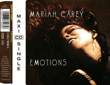 MARIAH CAREY - Emotions (C&C Club mixes) 3TR CDM 1991 POP / HOUSE / RARE!!!!
