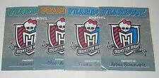 Monster High Picture Day Fearbook Lagoona Frankie Cleo Abbey Booklets & Stickers