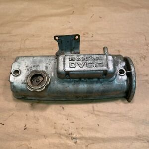 Original Honda Civic 1500 CVCC Engine Valve Cover Rocker Cover 592 OEM
