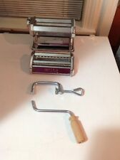Imperia Tipo Lusso SP150 Stainless Steel Hand Crank Pasta Maker Fast Shipping