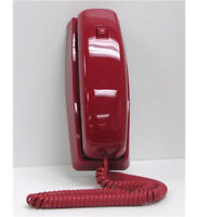 Cortelco 815047-VOE-21F Trendline Corded Telephone Red ITT-8150RD