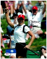 Natalie Gulbis Golfer Signed 8x10 Color Photo PSA