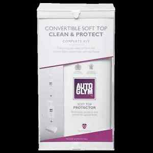 Autoglym Convertible Soft Top Clean & Protect Complete Kit Valet Roof NEW