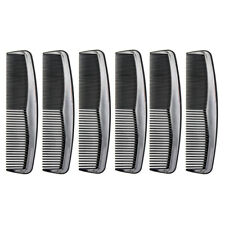 """Favorict (6 Pack) 5"""" Pocket Hair Comb Beard & Mustache Combs for Men's Hair"""
