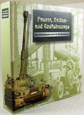 Sammelordner Panzer, Ketten- und Radfahreuge, ca. 190 Typblätter