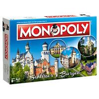 Monopoly Schlösser & Burgen Deutschland Edition Gesellschaftsspiel Brettspiel