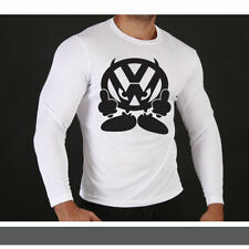 Retro Long Sleeve Personalised T-Shirts for Men