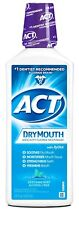 ACT Total Care Anticavity Fluoride Rinse for Dry Mouth Soothing Mint, 18 Ounce