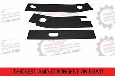 3 Pc Kit Frame Rust Repair Shackle Plate panel Jeep Wrangler YJ Rear Weld 87-95