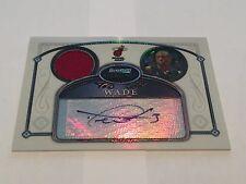 Topps Bowman Sterling 2007 Dwyane Wade Miami Heat Auto Patch 119/199