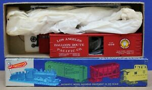 Roundhouse 3010 HO 36' Box Car Kit Los Angeles Pacific Balloon Route Electric Ry