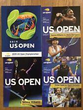 2019 US Open Tennis Program Plus Six Dailies Serena Nadal FREE SHIPPING