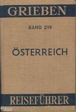 Grieben Reiseführer 219 Österreich 1956