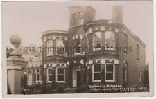 The Priory Withdean Struck by Lightning & Destroyed by Fire RP Postcard B774