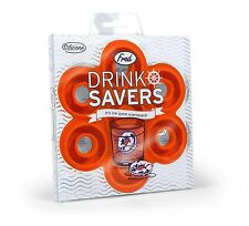 Fred and Friends DRINK SAVERS Life Ring Ice Tray  FREE SHIPPING