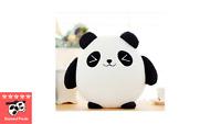 Panda With Bamboo Bag Plush , Brand New - Diamond Panda Plush
