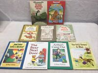 Vintage An I Can Read Book Lot of 9 HC Childrens Books Harper Collins Homeschool