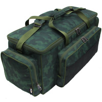 XXL Carryall camouflage Angeltasche isoliert 85x35x35cm 3 Außentaschen Karpfen