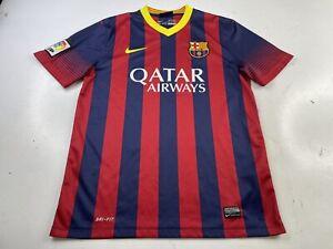 Nike FC Barcelona 2013-2014 Home Jersey Soccer Futbol Football Dri-Fit Medium