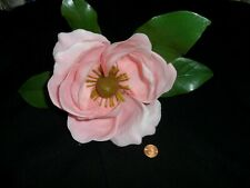 Vintage Large Plastic Pink Magnolia from the 60's