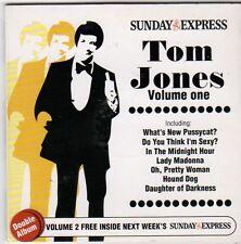 (FI518) Tom Jones, Volume 1 + 2, 30 tracks - 2006 Sunday Express CD