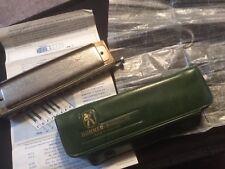 Vintage M Hohner Super Chromonica 270 C  Harmonica w/soft case Made In Germany