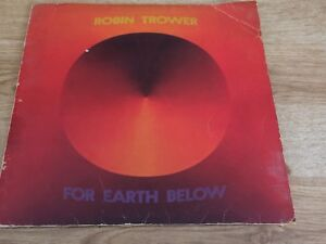 Robin Trower For Earth Below Side One -side Two Album Record