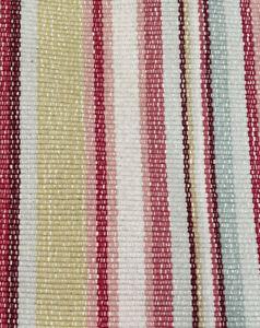 Pottery Barn Striped Cotton Rug Runner 2.5'x6.75'