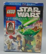 SEALED Lego Star Wars The Padawan Menace (Blu-Ray/DVD, 2011) w/ Mini Figure