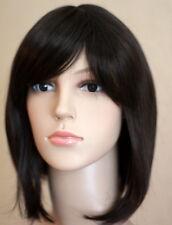 WIGS FOR WOMEN Bob Style Dark Brown Fashion Straight Full Wig Cosplay SOFT