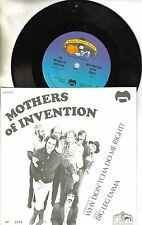Mothers Of Invention Why Don'tcha Do Me Right/Big Leg Emma 45 Ltd Ed w/PS