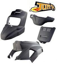 Kit carenage carrosserie coque Noir mat TUN'R Booster Spirit 2004 / 2012 / 2015-