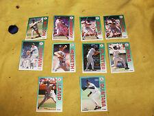 Lot of 10 ~ 1992 Fleer Boston Red Sox Baseball Cards (lot #2)