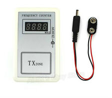 RF Frequency Detector Cymometer Meter Scanner Counter 250-450MHZ control remoto