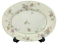 "Vintage Theodore Haviland New York - Gloria - 11"" Oval Serving Platter - 11 3/8"""