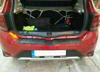 Für Dacia Sandero Stepway II 2013-2018 Ladekantenschutz ABS Kunststoff (Schwarz)