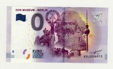 0- EURO Souvenir Banknote - DDR Museum Berlin 2017-1, Motiv Karl Marx