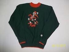 Vintage Men's Size Large Miami Hurricane Sweatshirt