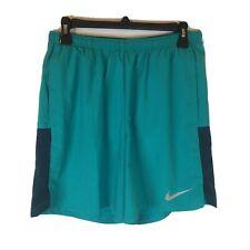 Nike Running Athletic Shorts Mens Medium Dri Fit Polyester Teal Green
