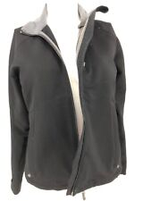 Ibex Womens Peak Climawool Final Layer Black Jacket Top Zip Size Small S ( G8)