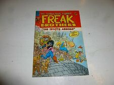 FABULOUS FURRY FREAK BROTHERS Comic - The Idiots Abroad - No 8 - Date 1984 - UK